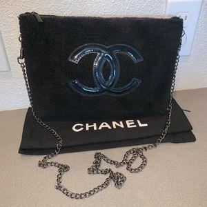 Authentic Chanel beauty cosmetics gift crossbody